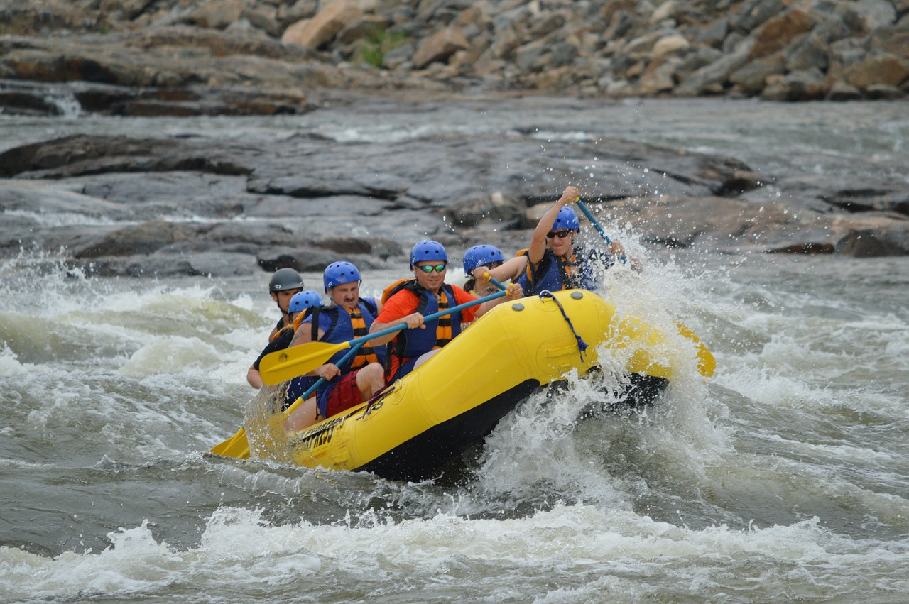 Whitewater Rafting Near Asheville
