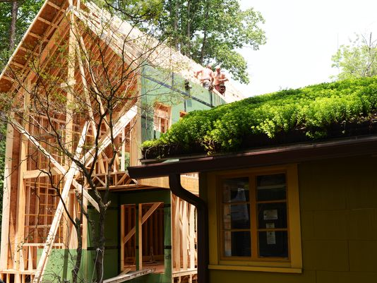 Green Home Building in Asheville NC