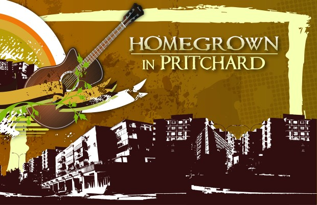 Homegrown in Pritchard Concert Flyer