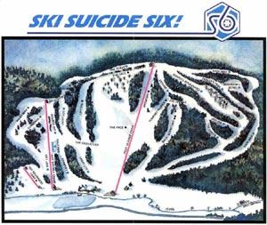 Suicide Six Ski Trails, Woodstock, Vermont