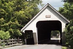 Covered Bridge in Woodstock, Vermont