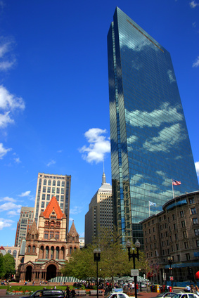 Easy commute to Boston's Copley Square from Jamaica Plain, Roslindale, and Brookline