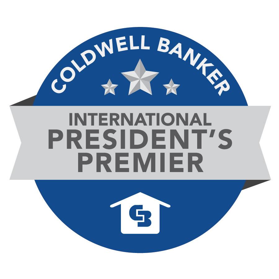 Coldwell Banker President's Premier Award Badge