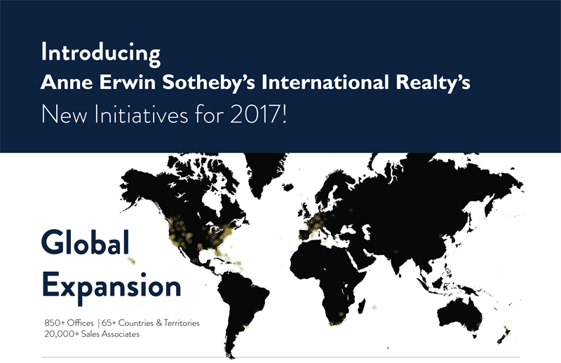 Introducing Anne Erwin Sotheby's International Realty | New Initiatives for 2017