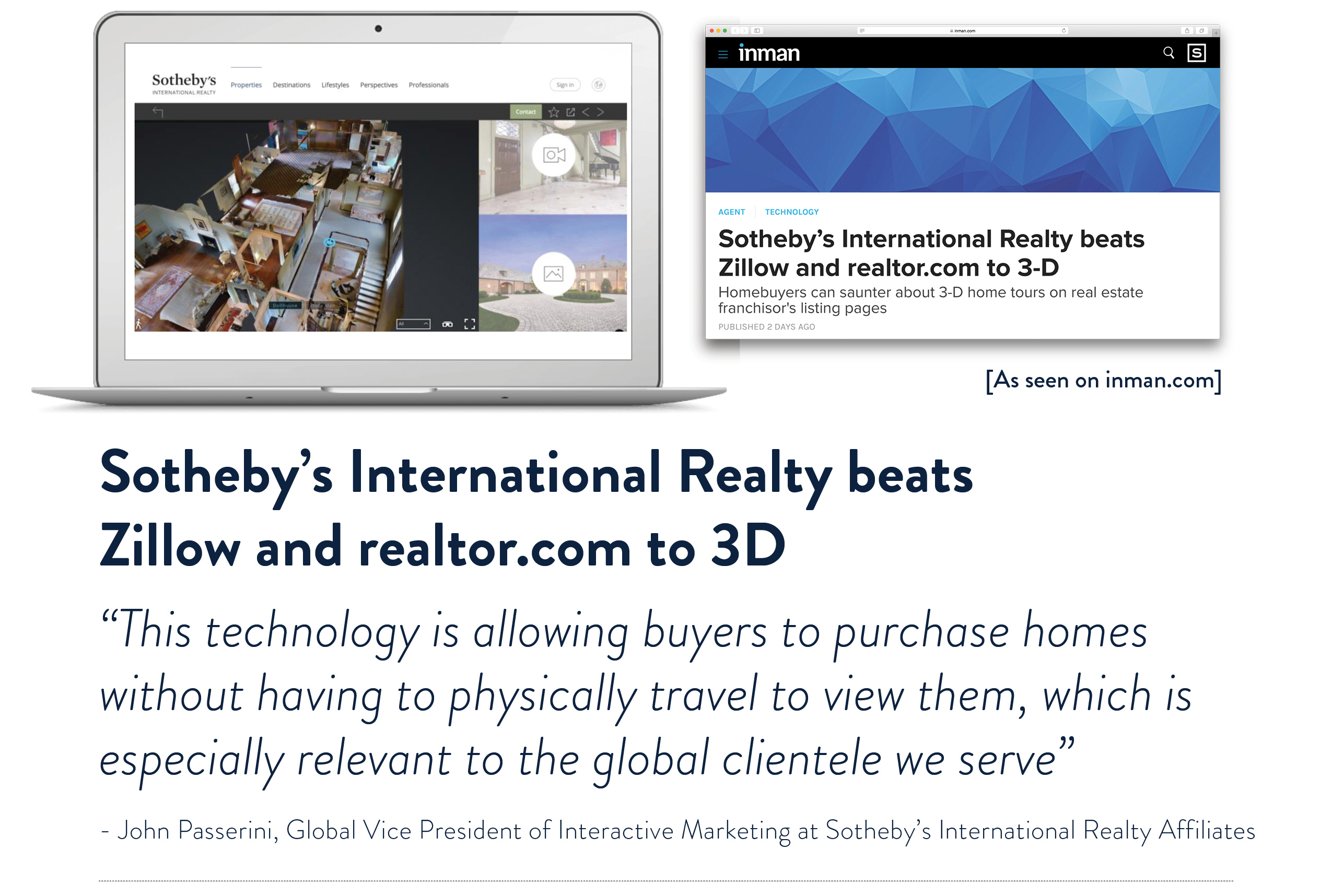Sotheby's International Realty offers 3D integration on SIR.com