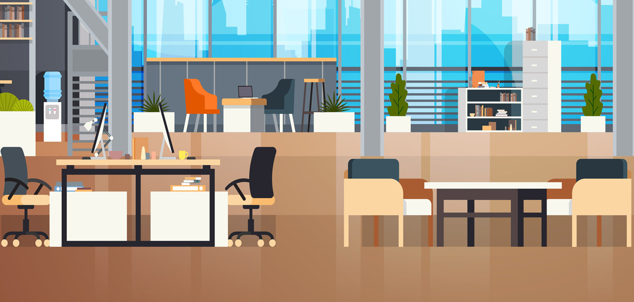 Co-Working Spaces and flexible work week