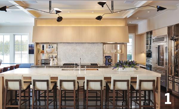 layered kitchens and lighting