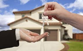 Handing the keys over to your home