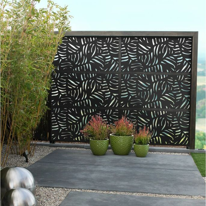 Privacy screen for patio