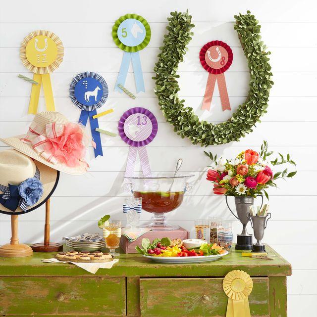 Horse race ribbons