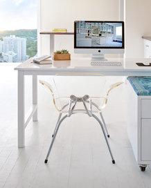 desktop computer desk and chair