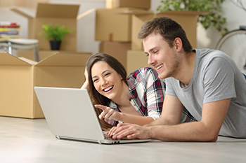 Home Buyers Searching Online