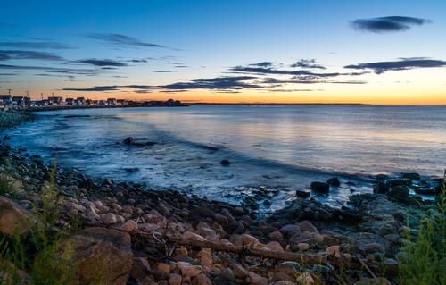 Sunrise on Wells Beach Maine