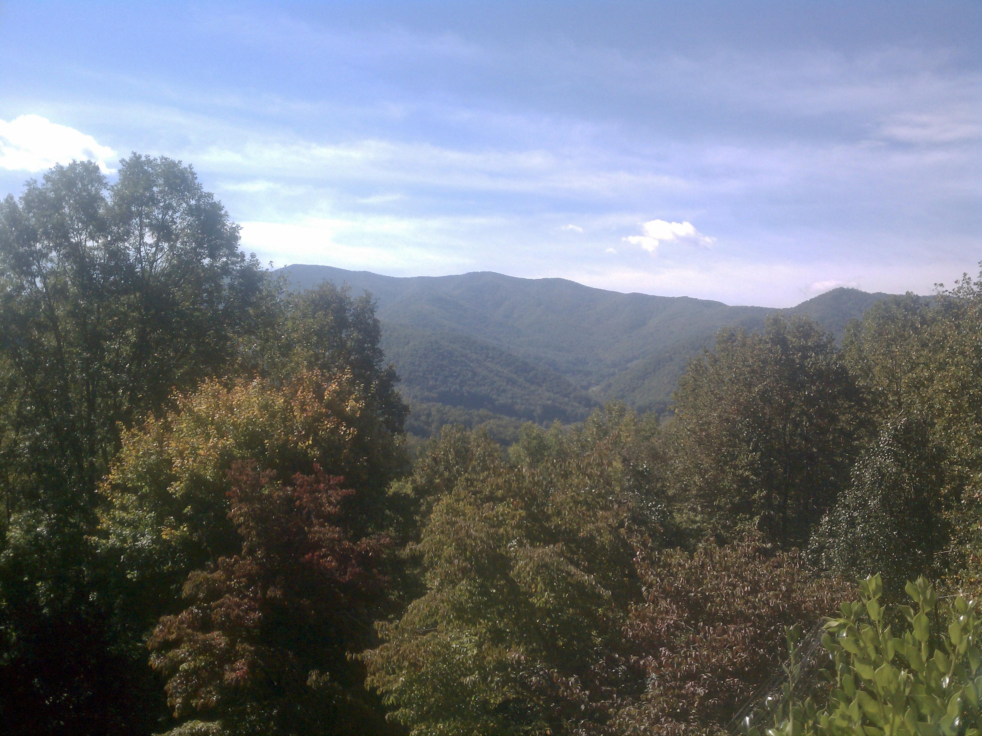 Leaf Update Maggie Valley NC 9-28-11
