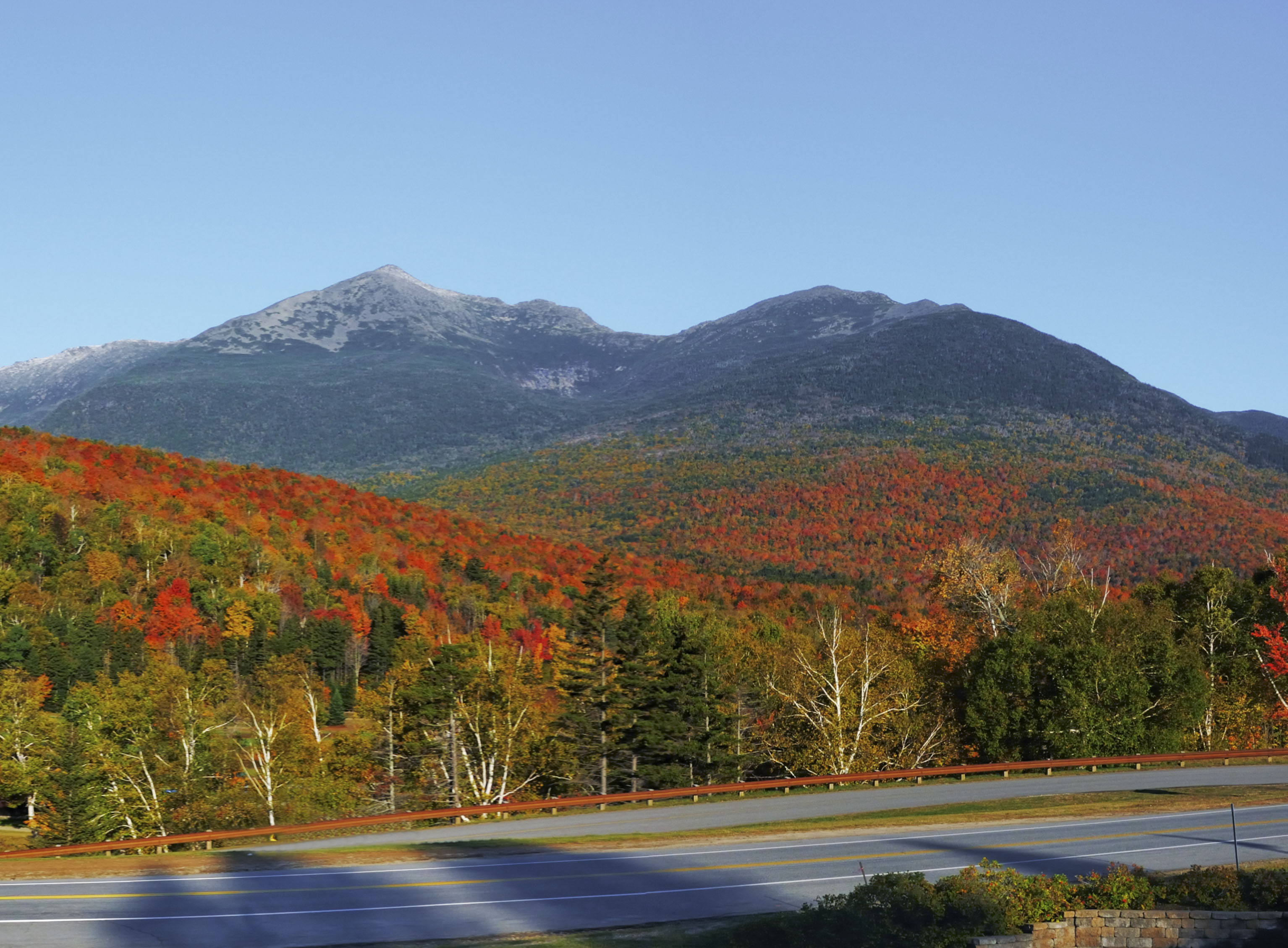 Scenic Mountain View in NH