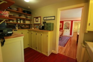 Butler Pantry in Northampton Home