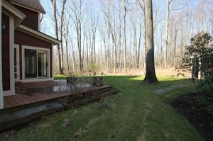 223 Maple Ridge Road, Northampton MA | Back yard