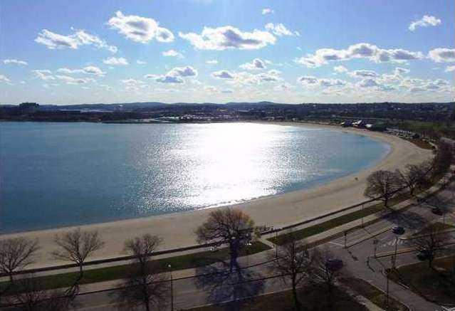 Aerial View of South Boston Beach