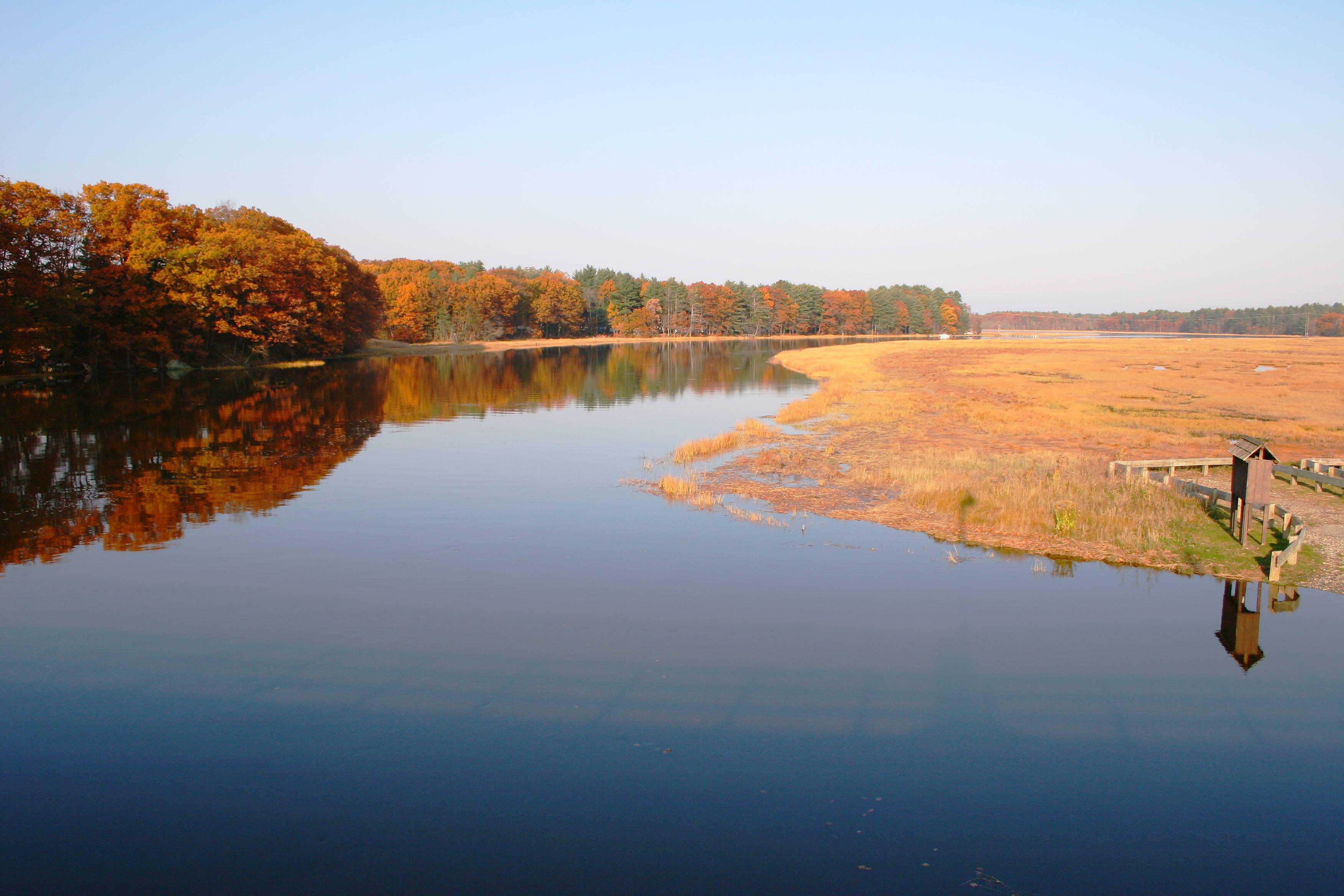 Swampscott River Stratham NH