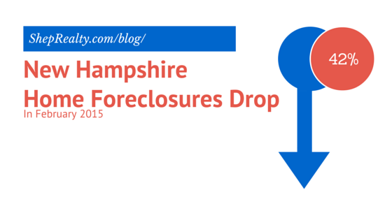 NH Home Foreclosure Drop title image