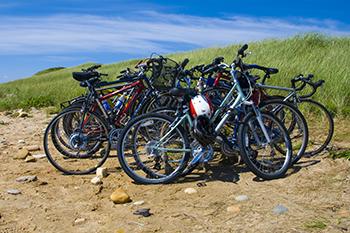Bikes on Martha's Vineyard