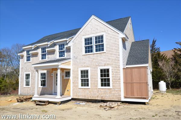 new construction home in Oak Bluffs MA