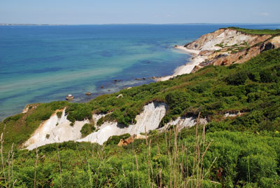 Gay Head Cliffs on Martha's Vineyard