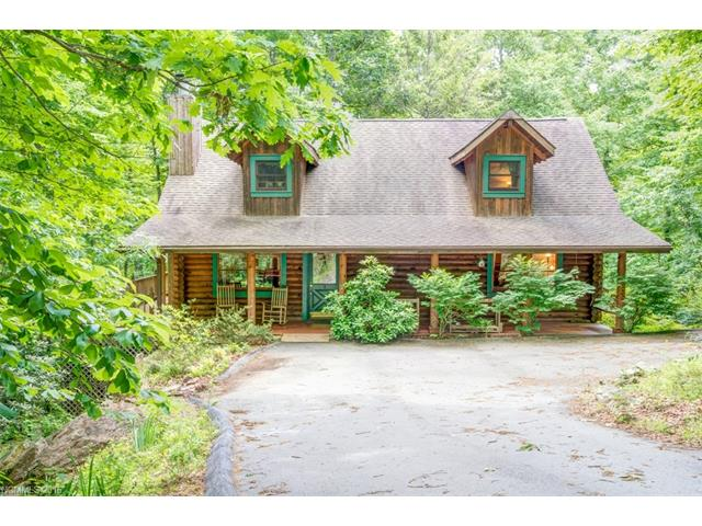 Black Mountain Log Cabin for Sale