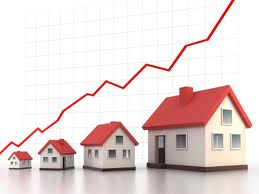 Asheville real estate rising.
