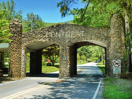 Enter the gate and discover the magic of Montreat
