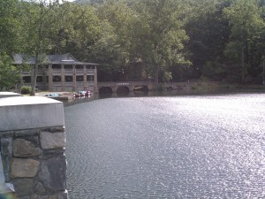 Lake Susan is Central to Montreat