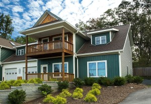 An Energy Star townhome in Black Mountain, NC