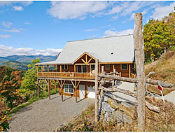 The View - A vacation rental in the Asheville Area with the most amazing views