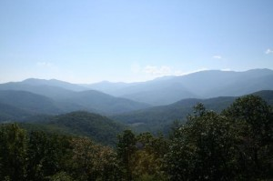 Blue Ridge Mountains Panoramic View
