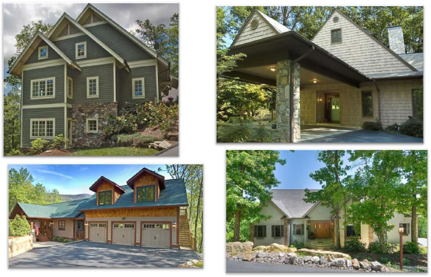 Just a few of the Luxury Homes sold by Greybeard Realty