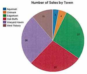 MV Real Estate: Q219 Sales by Town