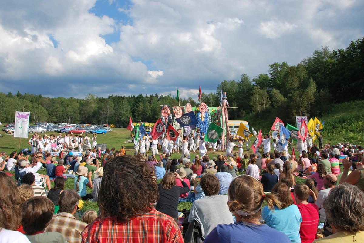 Glover VT Bread & Puppet Theater