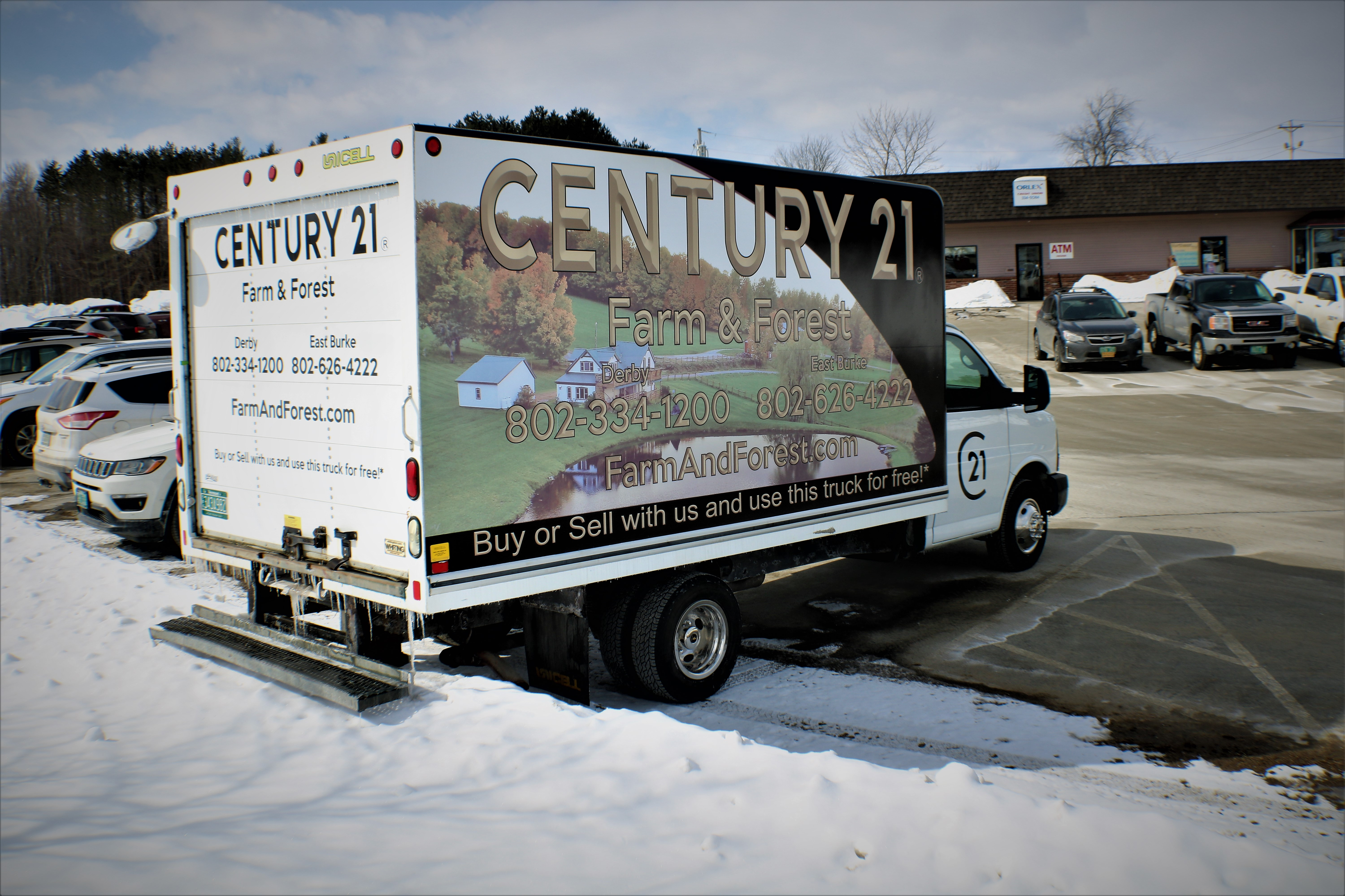 Free Moving Truck Century 21 Farm Amp Forest