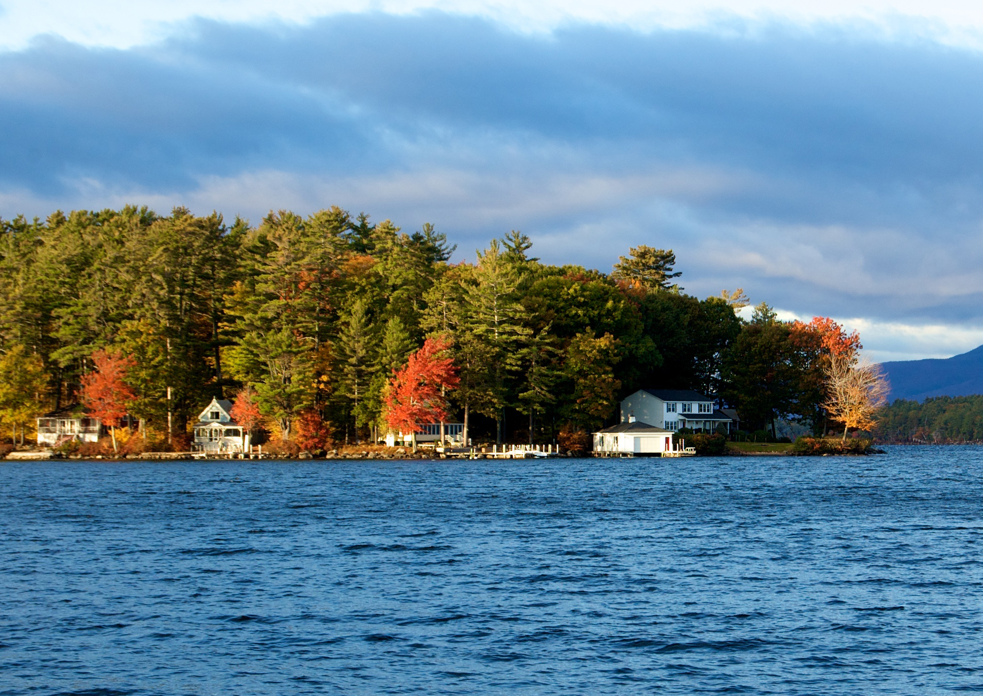 Lake Winnipesaukee Fall