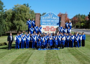 2010-2011 Inter-Lakes High School Band, Meredith, New Hampshire