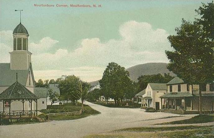 Moultonborough Corner with the Old Country Story