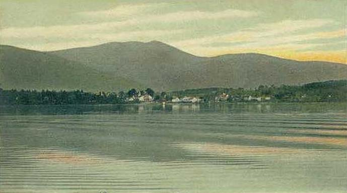 Melvin Village & Mt. Shaw in 1906