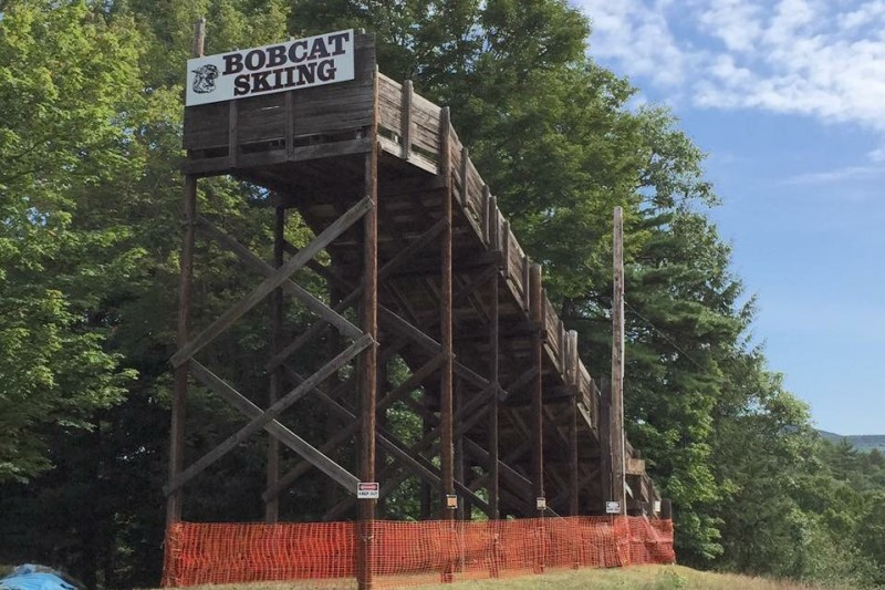 Plymouth High School Ski Jump