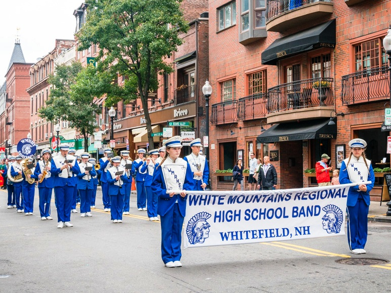 White Mountain Regional High School, NH Band