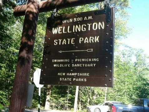 Wellington State Park, Bristol, NH