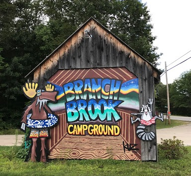 Branch Brook Campground, Campton, NH