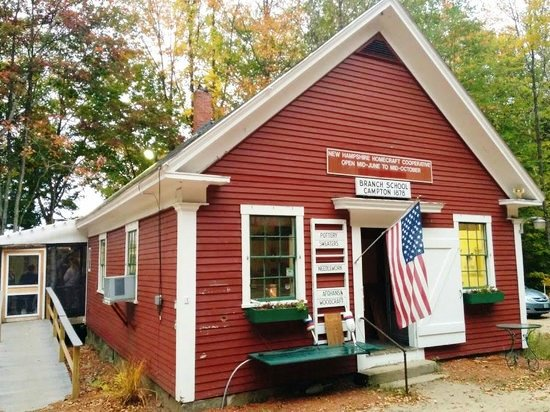 Little Red School House, Campton, NH