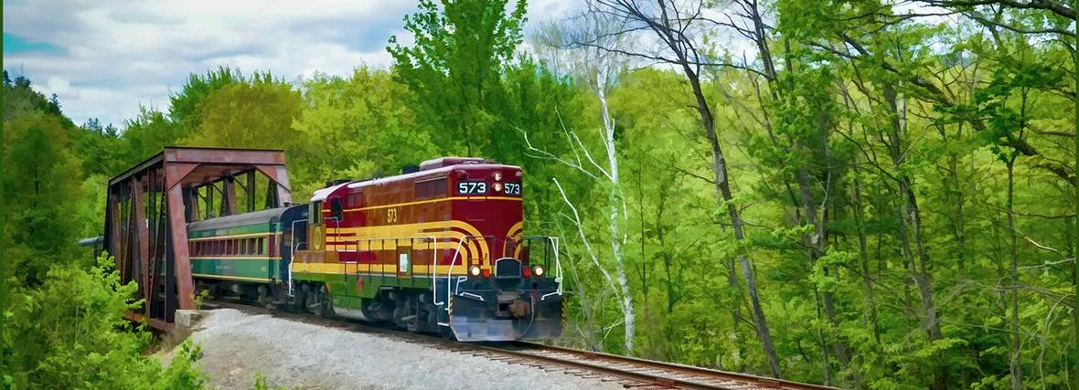 Conway Scenic Railroad, Conway, NH