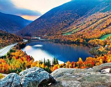 Echo Lake, Franconia, NH