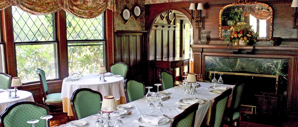 Van Horne Dining Room, Manor at Golden Pond, Holderness, NH